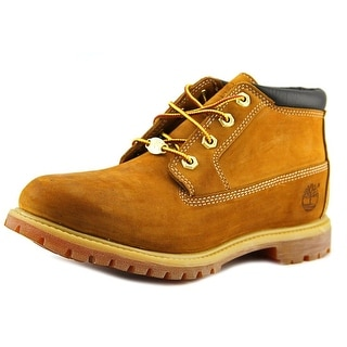 Timberland Nellie Round Toe Leather Ankle Boot
