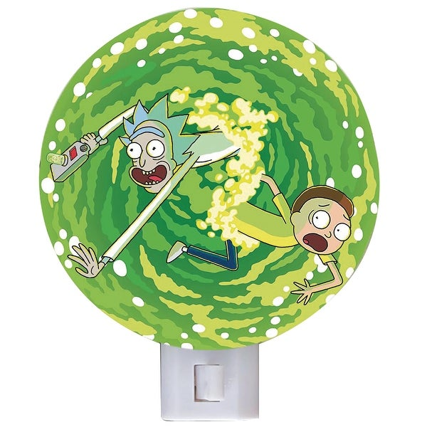 Rick & Morty Portal Night Light - multi