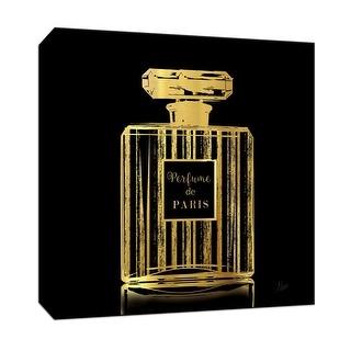 """PTM Images 9-147199  PTM Canvas Collection 12"""" x 12"""" - """"Parfume de Paris"""" Giclee Perfumes Art Print on Canvas"""