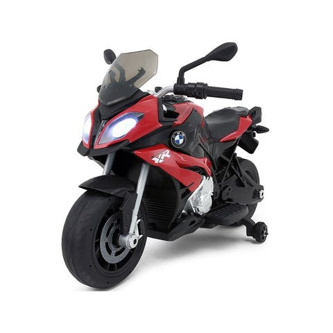 BMW 12v Motorcycle Red