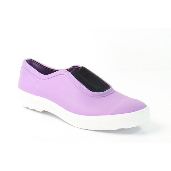 Hunter NEW Purple Women's Shoes Size M Plimsole Rubber Sneaker