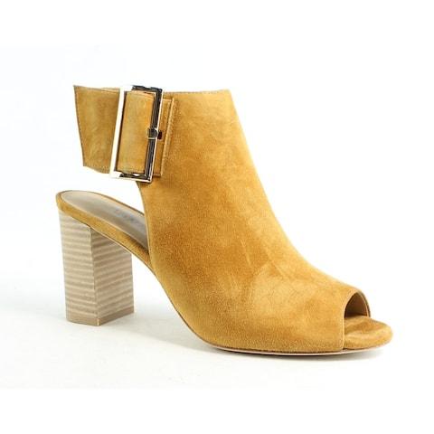 VANELi Womens Bisa Tan Open Toe Heels Size 8.5
