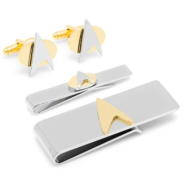 Star Trek Two-Tone Delta Shield 3-Piece Gift Set