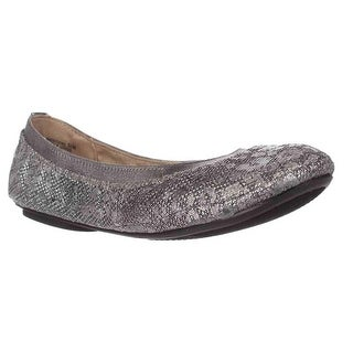 Bandolino Edition Ballet Flats, Pewter Leopard Glamour