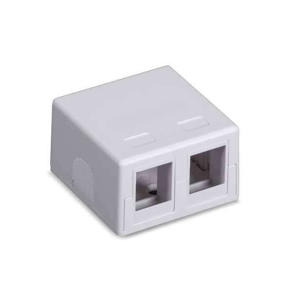 Black Box Network Services - Black Boconnect Rj 45 Surface Mount Ho