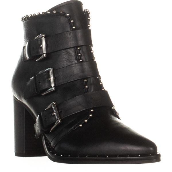 d5efea92016 Shop Steve Madden Humble Triple Buckle Boots, Black - Free Shipping ...