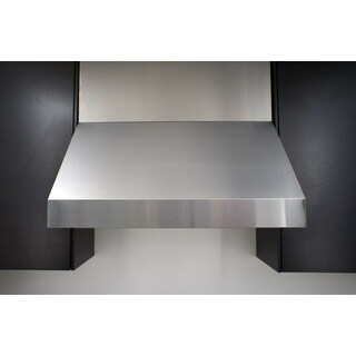 """Miseno MH70236AS 1200 CFM 36"""" Professional Stainless Steel Wall Mounted Range Hood with Dual Halogen Lighting System"""