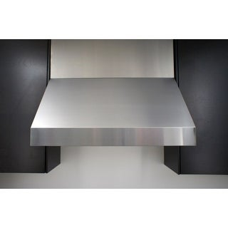 "Miseno MH70248AS 1200 CFM 48"" Professional Stainless Steel Wall Mounted Range Hood with Dual Halogen Lighting System"