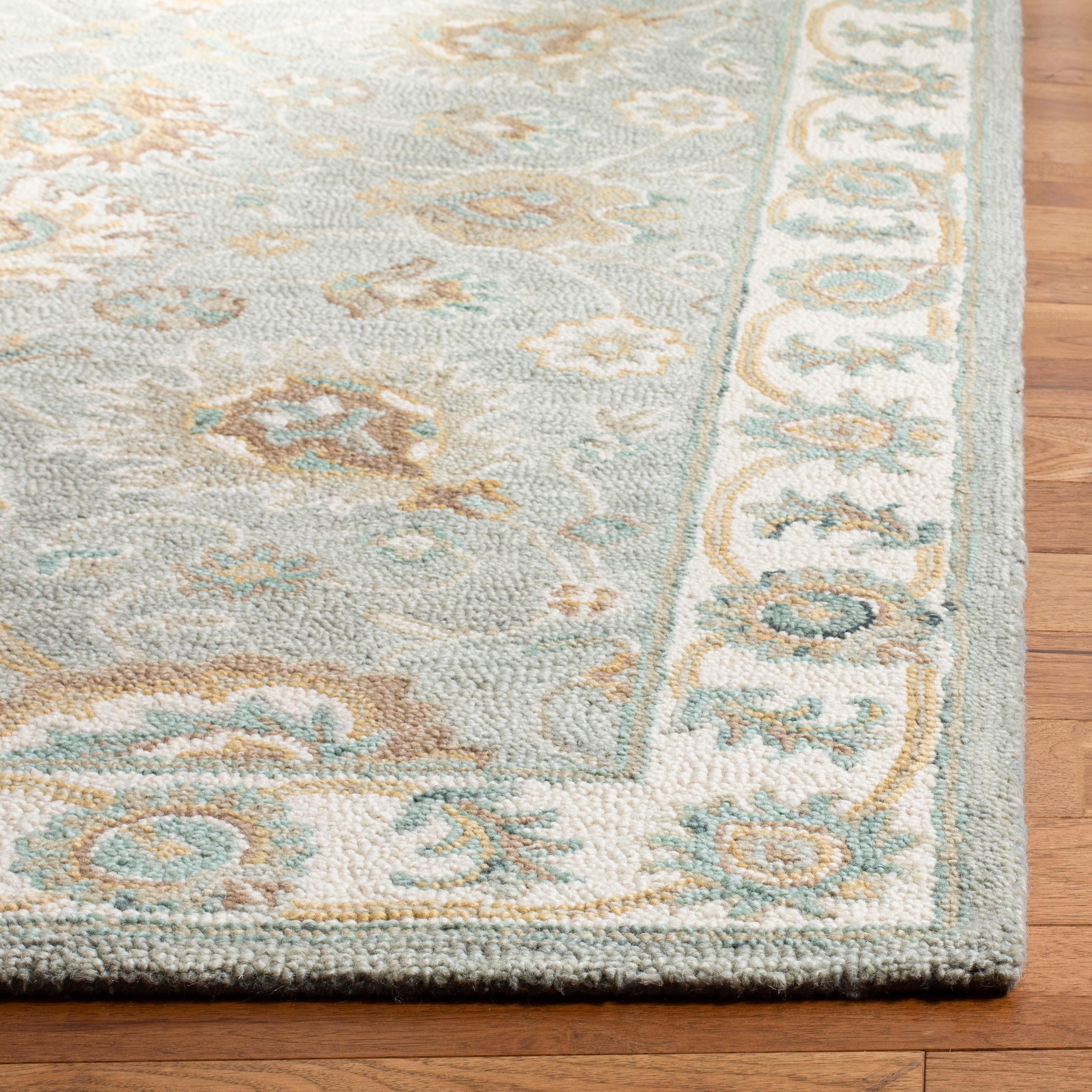 Safavieh Handmade Blossom Almyra Modern Floral Wool Rug Overstock 26288127