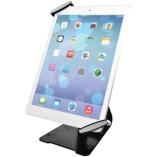 Cta Digital Universal Anti-Theft Security Grip With Pos Stand For Tablets - Ipad Air 2, Ipad Mini 4, Galaxy Tab, Note 10