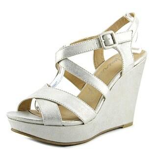 American Rag Rachey1 Open Toe Synthetic Platform Sandal