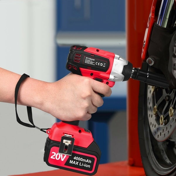 20V Cordless Impact Wrench Brushless with 4.0 AH Battery. Opens flyout.