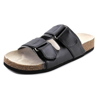 Qupid Deco-05 Open Toe Synthetic Slides Sandal