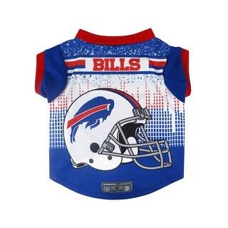 Buffalo Bills Pet Performance Tee Shirt Size M