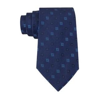Calvin Klein Steel Midnight Fashion Slim Neck Tie Navy Blue - One Size Fits most