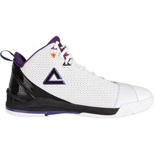797388a92b18 Shop Peak Men s Jason Richardson Basketball Shoe White Plum - Free ...