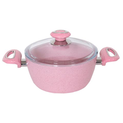 Janna Non-Stick Stainless Steel Soup Pot with Lid
