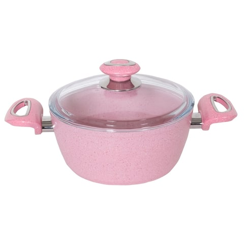 Kaisa Non-Stick Stainless Steel Soup Pot with Lid