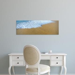Easy Art Prints Panoramic Image 'Waves, Playa La Cachora, Todos Santos, Baja California Sur, Mexico' Canvas Art