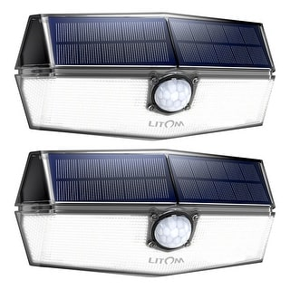 120 LED Solar Lights Outdoor Waterproof Solar Power Lights with 270 Wide Angle Motion Sensor