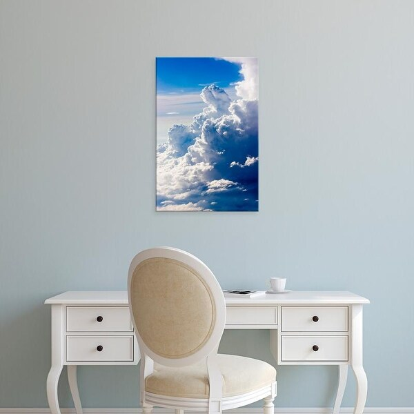Easy Art Prints Keren Su's 'Aerial View Of Clouds In The Sky' Premium Canvas Art