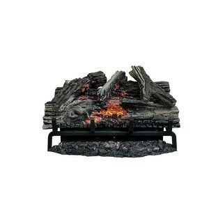 "Napoleon NEFI27  5000 BTU 27"" Wide Electric Fireplace Log Set with Remote Control from the Woodland Series - Wood"