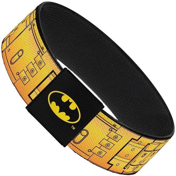 Batman Utility Belt Black Yellow Elastic Bracelet