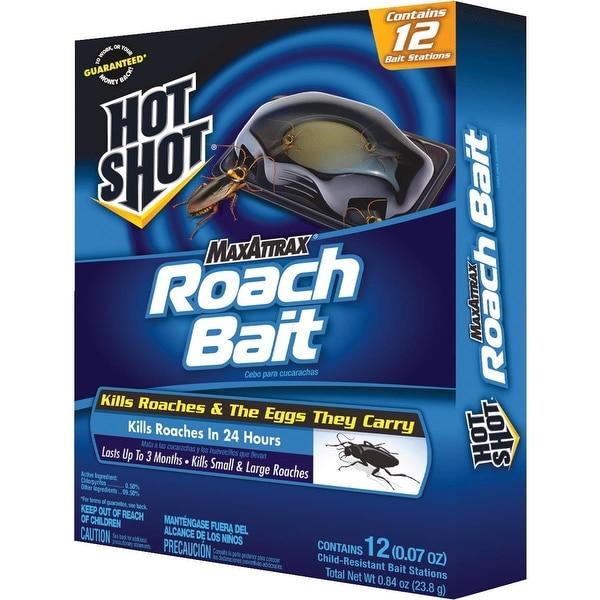 Hot Shot 6Pk Roach Bait Trap