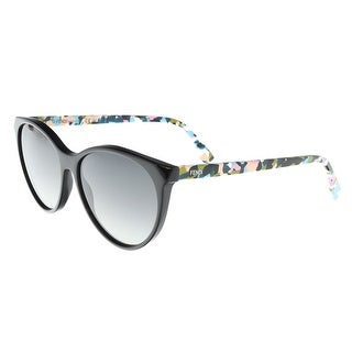 Fendi FF 0170/S 0TTY Black/Multi Cat Eye Sunglasses