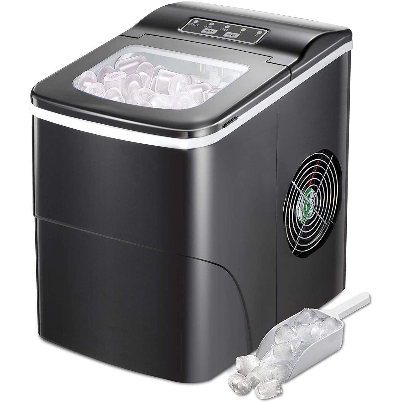 Ice Maker Machine Countertop Portable Ice Cube Makers 26 Lbs In 1 Hrs Overstock 32893479