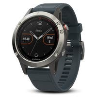 Garmin Fenix 5 WW GPS - Granite Blue - ONE SIZE