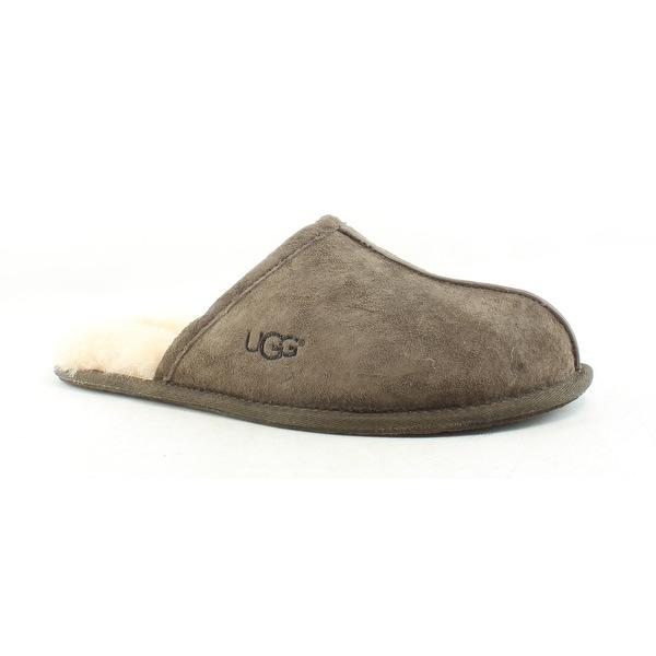 f86c6b3ce Shop UGG Mens Scuff Espresso Mule Slippers Size 10 - Free Shipping ...