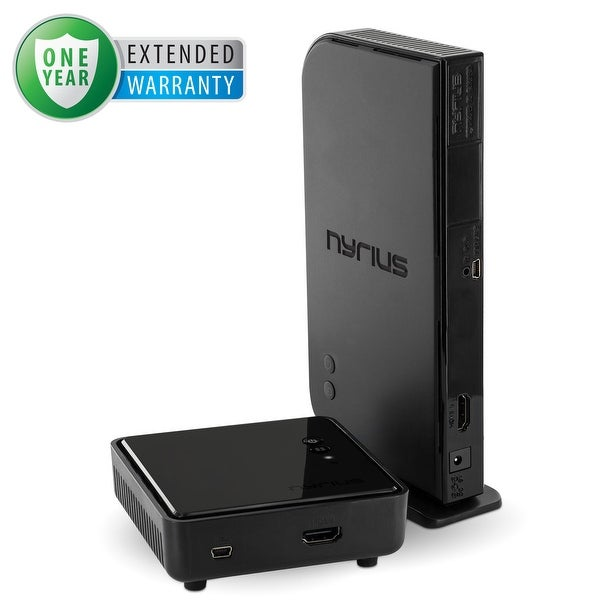 Nyrius NAVS500 HDMI Digital Wireless Audio/Video Sender/Receiver System & 1 Year Additional Warranty