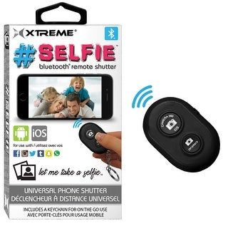 Selfie Bluetooth Remote Shutter Black