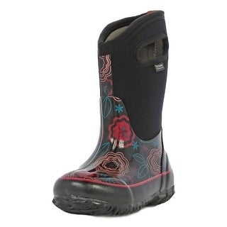 Bogs Boots Girls Kids Classic Posey Pull On Waterproof 71994