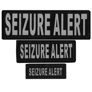 N0228-L-XL Removable Cloth Tie Patches Seizure Alert #44; Large