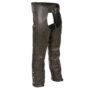 Mens Leather Fully Lined Naked Cowhide Chaps (More options available)