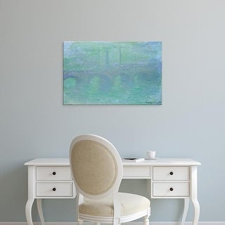 Easy Art Prints 's 'Waterloo Bridge' Premium Canvas Art