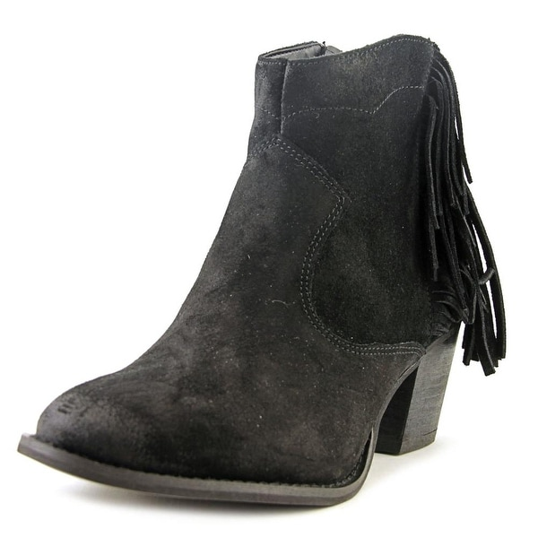 Marc Fisher Sade Women Round Toe Suede Ankle Boot