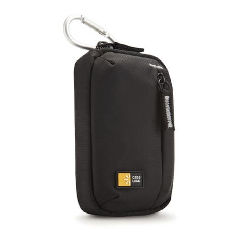"""Case Logic TBC-404 Compact High Zoom Camera Case (Black) - 3.2 'x 1.2"""" x 4.9"""""""