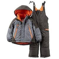 Carter's Baby Boys' Colorblock Snowsuit Set - 12 Months