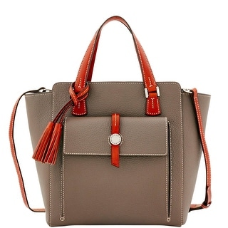Dooney & Bourke Cambridge North South Shopper (Introduced by Dooney & Bourke at $398 in Oct 2016) - Taupe