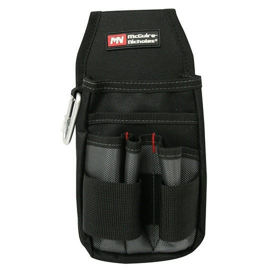 McGuire Nicholas 804-Q Tool Pouch, Polyester, Black