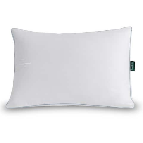 Lauren Ralph Lauren Lawton Extra-Firm Density Pillow - White/Blue Cord