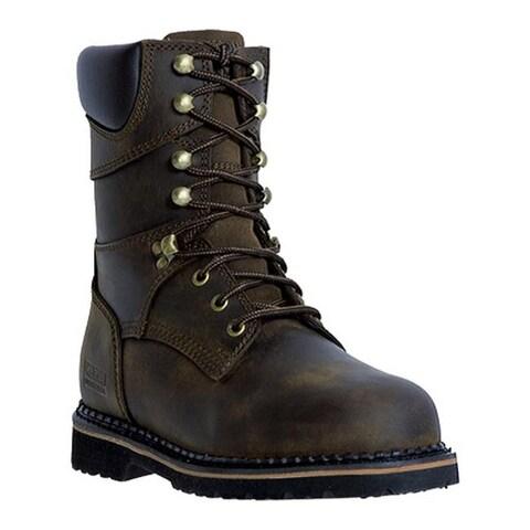 "McRae Industrial Men's 8"" Lacer MR88144 Dark Brown"