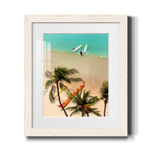 Orchids in Paradise I-Premium Framed Print - Ready to Hang