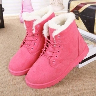 Link to Women Winter Warm Plush Boots Winter Boots Similar Items in Women's Shoes