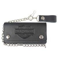 87ca4840e74e Shop Harley-Davidson Men s Shot Caller Embossed Biker Leather Wallet ...