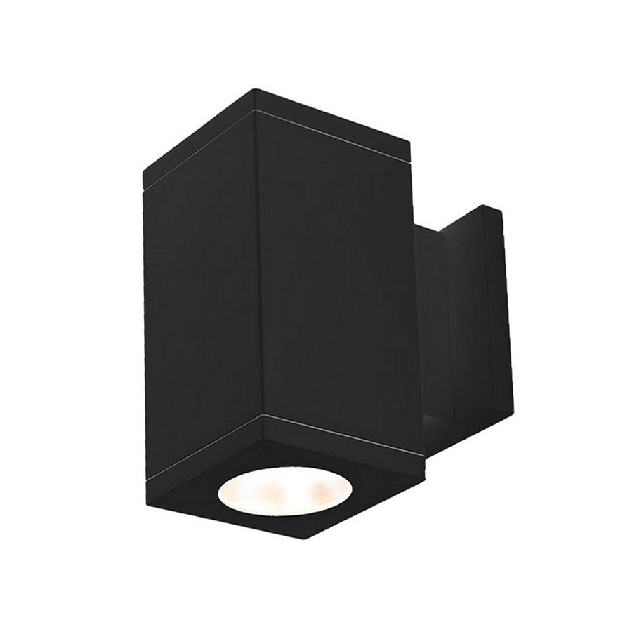 shop wac lighting dc ws06 fa cube architectural single light 10 wac lighting dc ws06 fa cube architectural single light 10 tall led outdoor wal n a