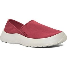 SoftScience Unisex Drift Canvas Espadrille Slip-On (Men's 9/Women's 11 - Red)
